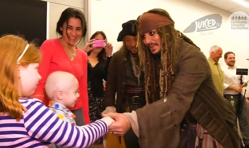 And this is why Johnny Depp is a most excellent guy. *VIDEO*