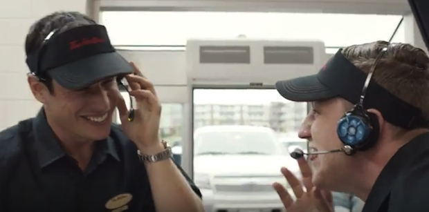 NHLers play with customers at Tim Horton's *VIDEO*
