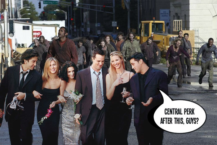 The Walking Dead/Friends Theme Added....