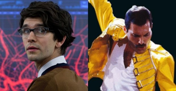 Ben Whishaw confirmed to play Freddie Mercury in biopic, Sacha Baron Cohen out....