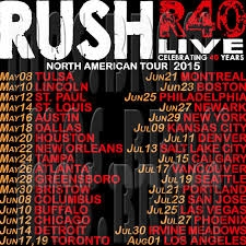 Another Rush tour? Nope. Probably.