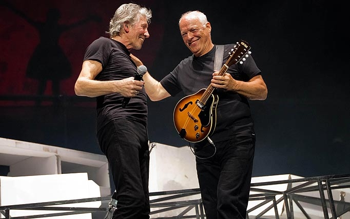 "Roger Waters; ""David Gilmour has a lousy sense of humor."""