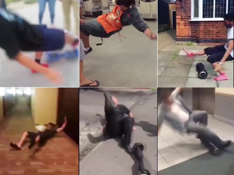 Hoverboard fails of the year (VIDEO)