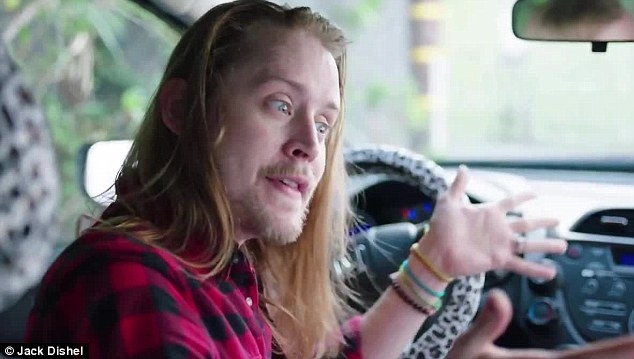 "Macaulay Culkin revisits ""Home Alone"" 25 years later...and it's classic (VIDEO)."