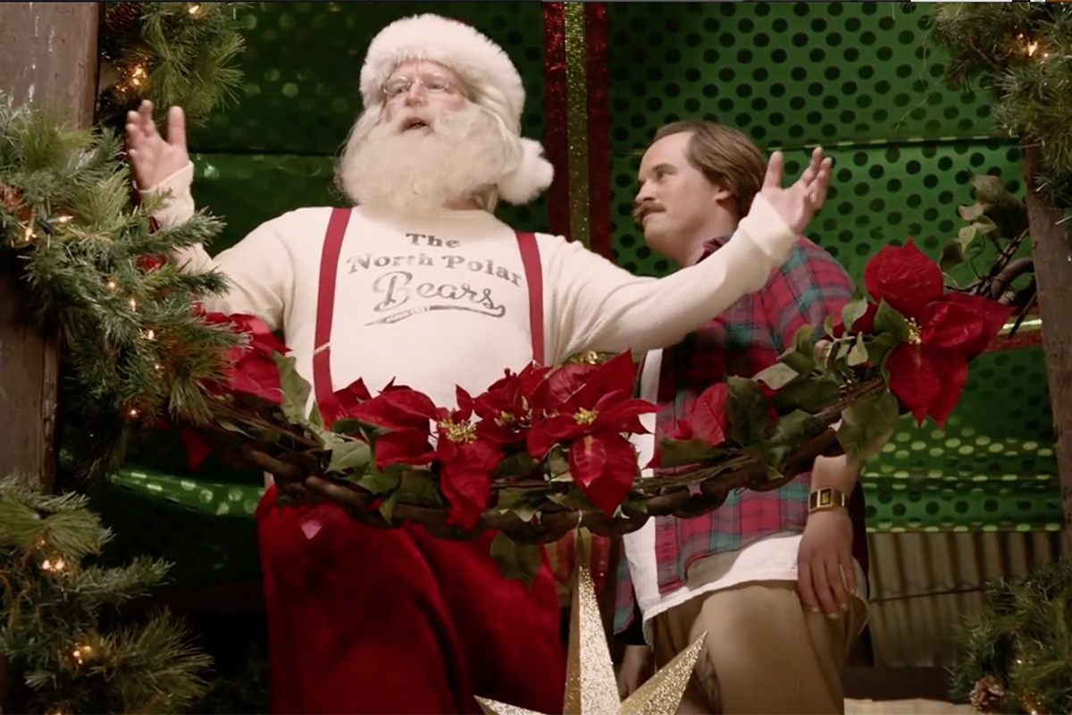 Possibly the best Christmas commercial this year (VIDEO).