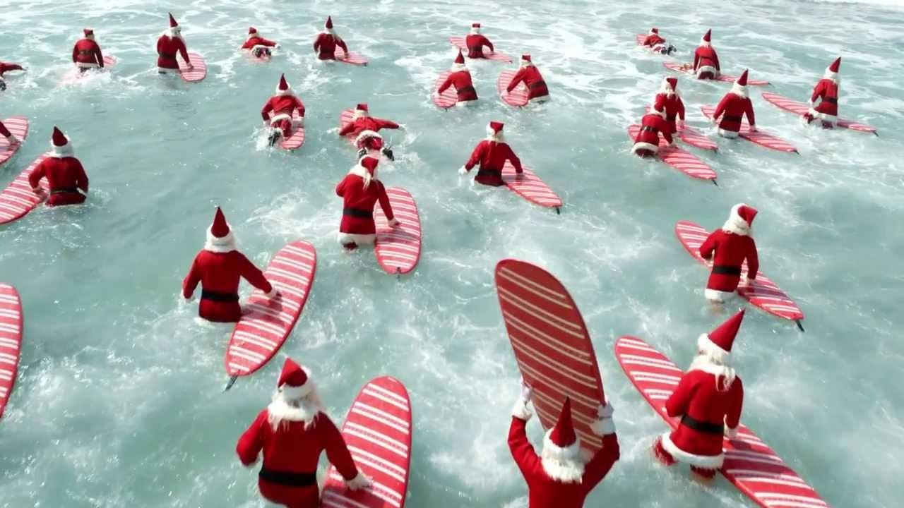 Santa got surf! (VIDEO)