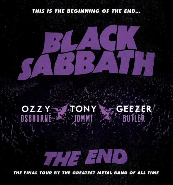 Black Sabbath open tour in Omaha