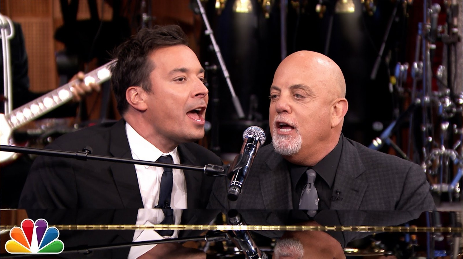 Jimmy Fallon and Billy Joel do The Rolling Stones. WIN (video)