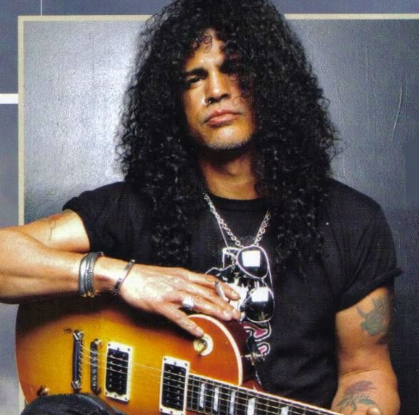 Slash is excited about life & his career