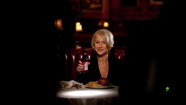 Budweiser Super Bowl Spot features Helen Mirren