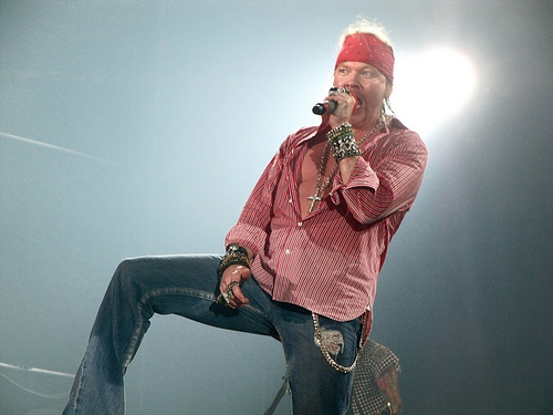 Axl Rose To Join AC/DC?