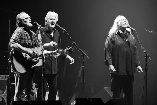 Crosby, Stills & Nash are done