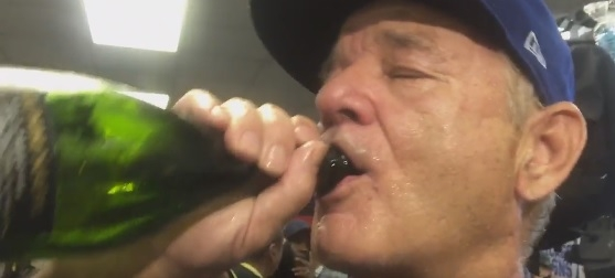 Bill Murray On Cubs Win