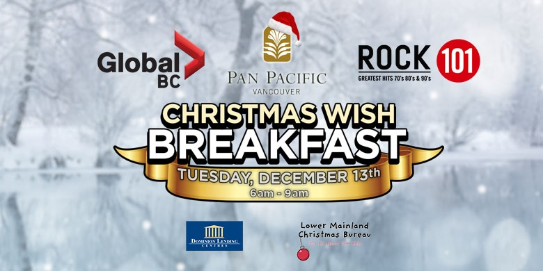 Pan Pacific Vancouver Christmas Wish Breakfast