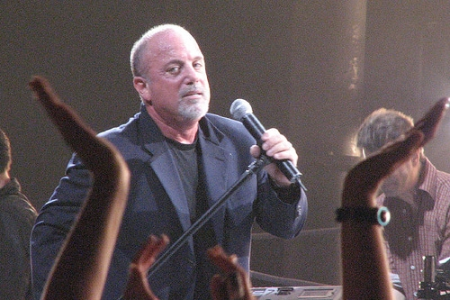 Billy Joel was awesome on Colbert