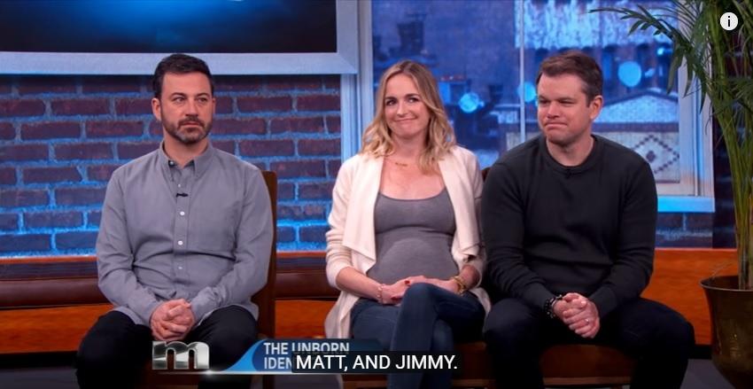 Jimmy Kimmel and Matt Damon are at it again....