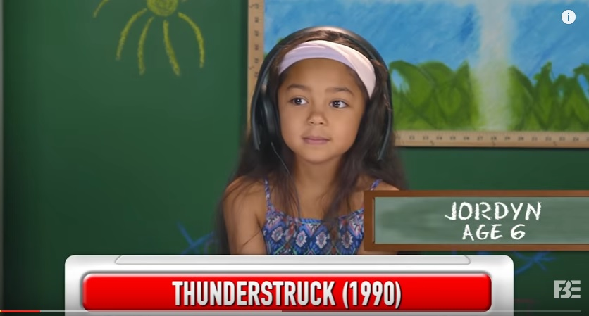 Watch kids listen to AC/DC for the first time!