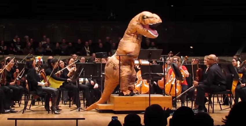 The Colorado Symphony visits Comic Con.