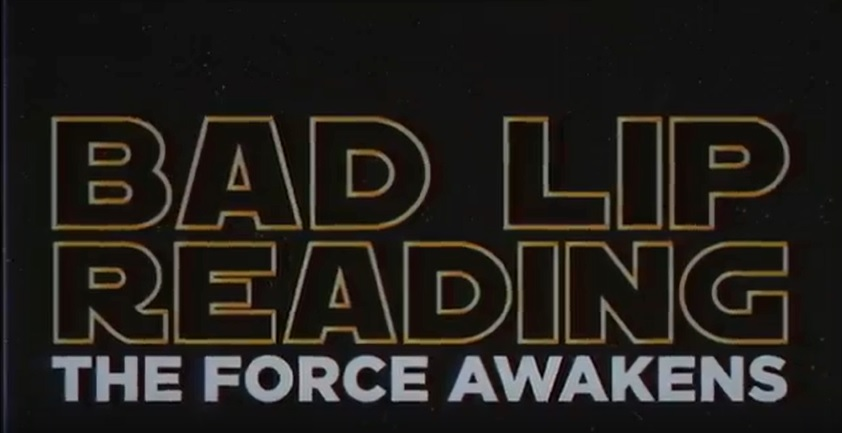 New Star Wars.... Bad Lip Reading