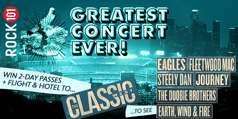 Rock 101's Greatest Concert Ever – Classic West