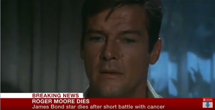 Breaking News, Roger Moore Dead at 89.