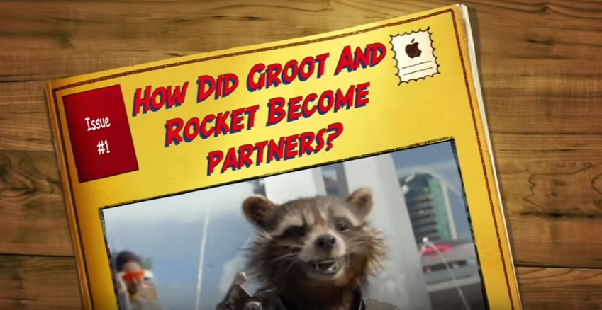 Ever wonder how Groot and Rocket from Guardians of the Galaxy met?
