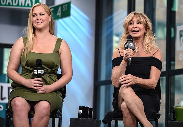 Goldie Hawn had never heard of Amy Schumer before they starred together in Snatched