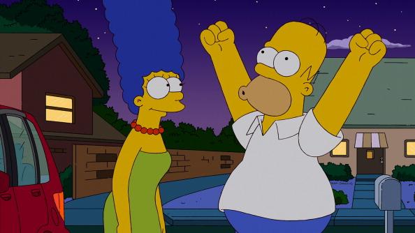 Homer Simpson enters Baseball Hall of Fame
