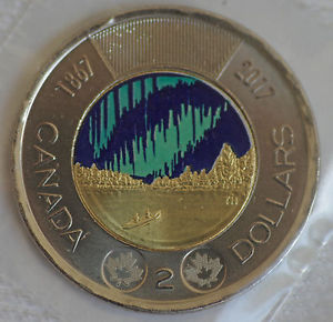 Glow-in-the-dark circulation Toonie released for Canada 150