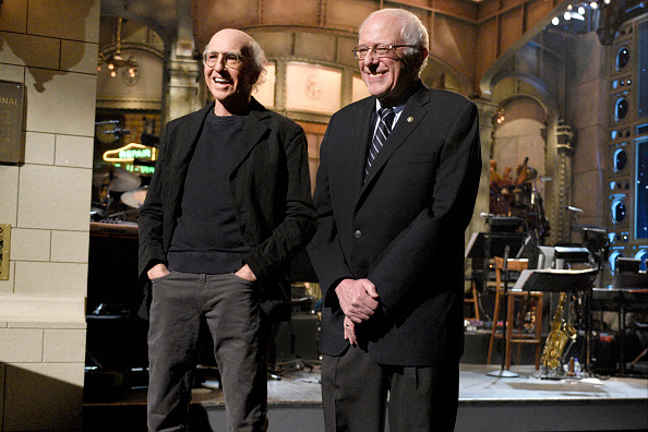 Larry David & Bernie Sanders are RELATED!!!