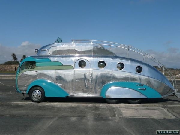 10 cool rv's and campers that will set you apart from the road trip crowd