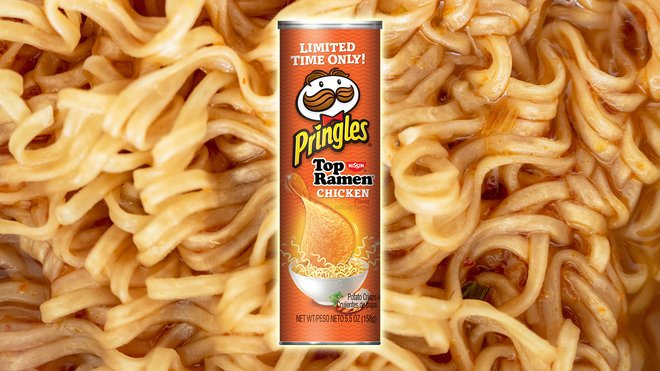Ramen-flavoured Pringles are coming