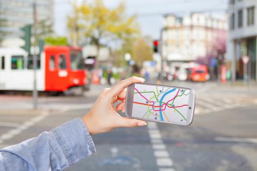 Smart phones changing how we walk