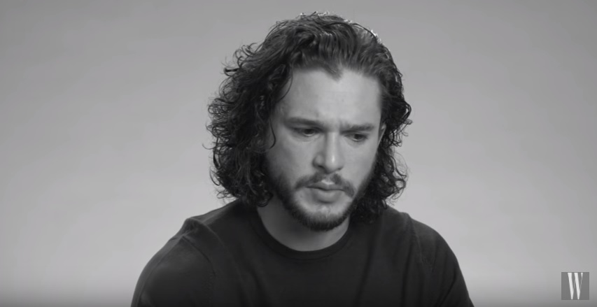 Kit Harington aka Jon Snow talking about his audition for Game of Thrones.....