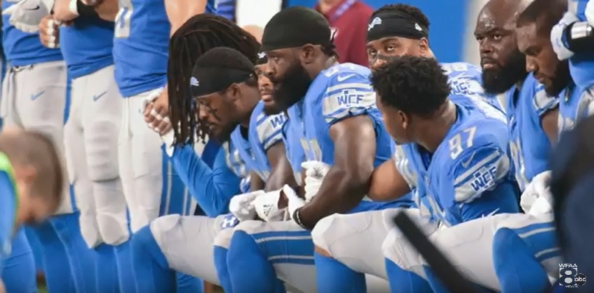 Regardless of where you stand with the NFL players... Have a listen...
