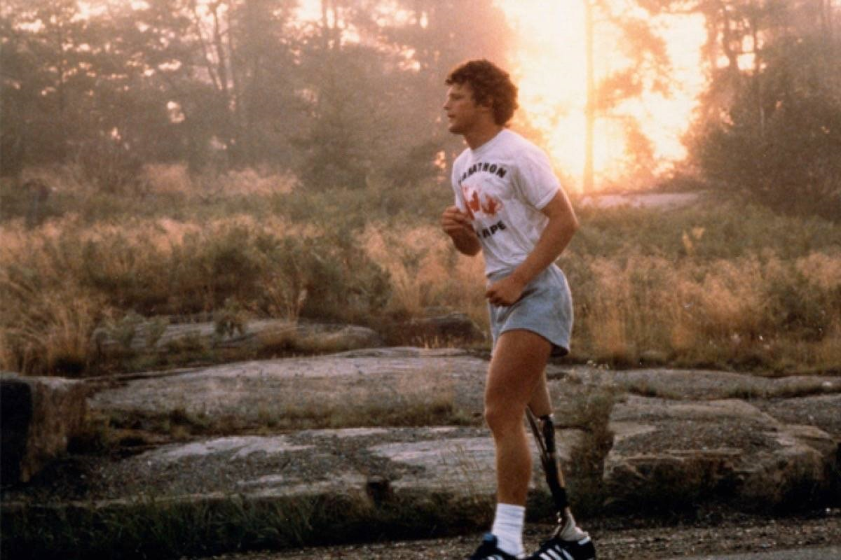 Your local Terry Fox Run is this weekend.