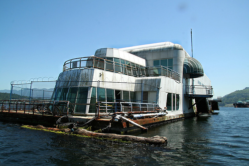 The long awaited return of the barge. The McBarge that is
