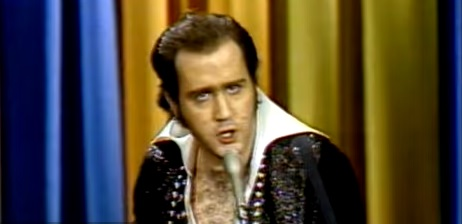 Andy Kaufman's Elvis Presley... and... The Dating Game...