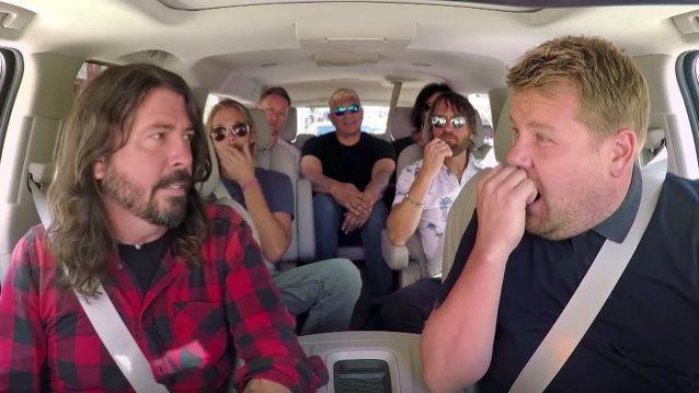 Foo Fighters' 'Carpool Karaoke' session wasn't as fun as it looked.