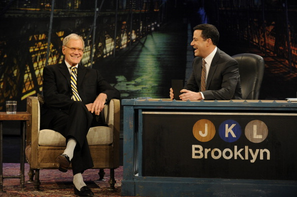 Kimmel to host Letterman in NYC