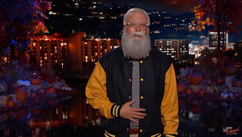 Dave Letterman Grohl