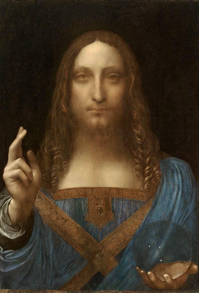 Previously lost da Vinci fetches record price at auction
