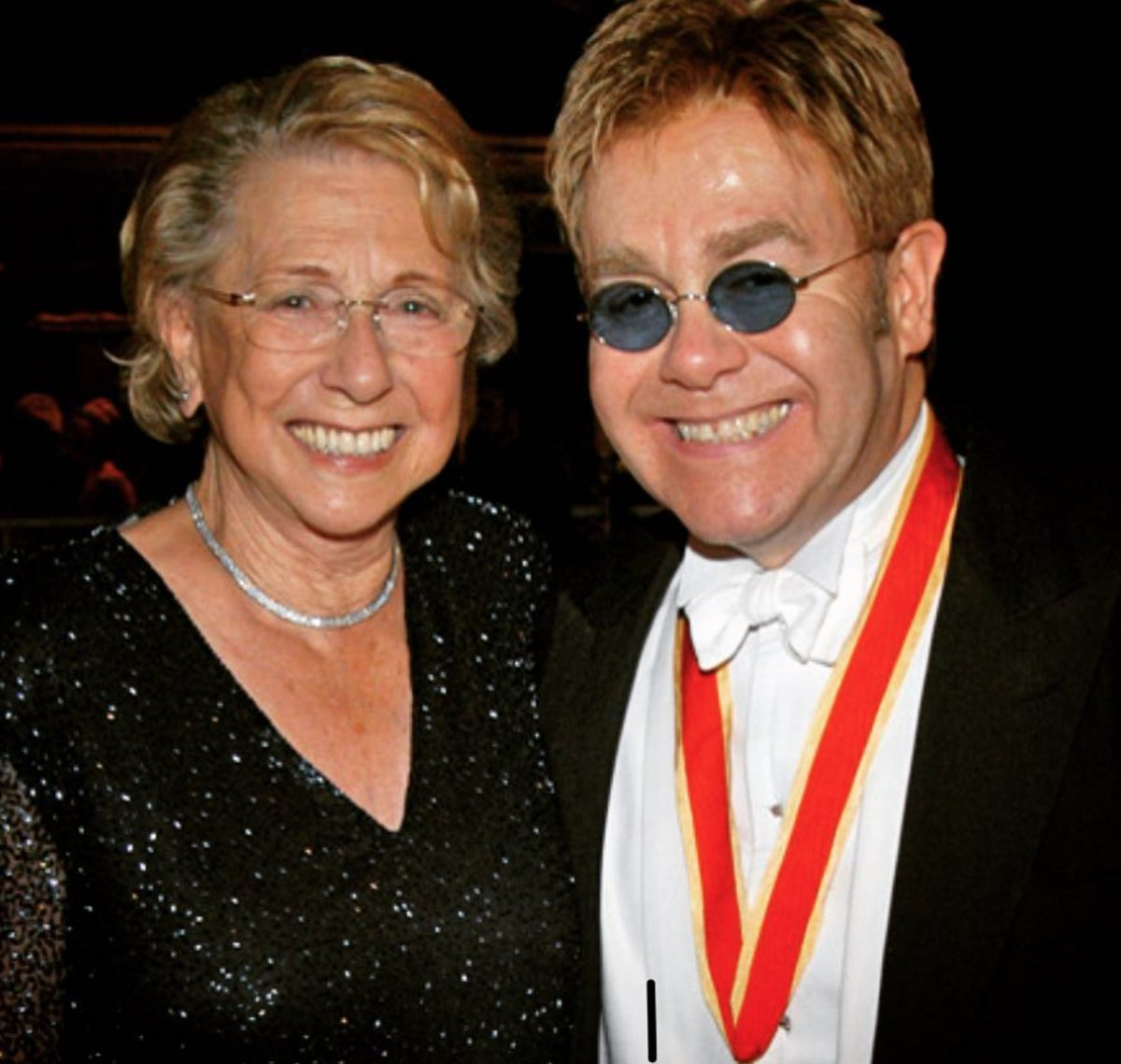 Elton John's mother has died
