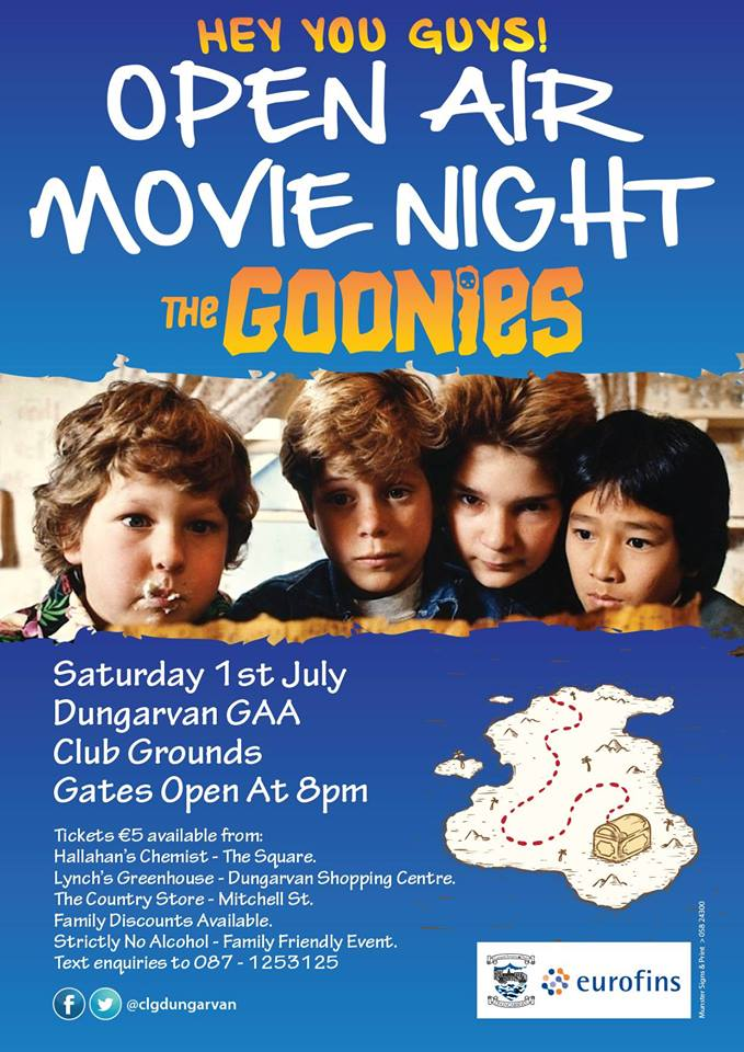 Do you like the Goonies?