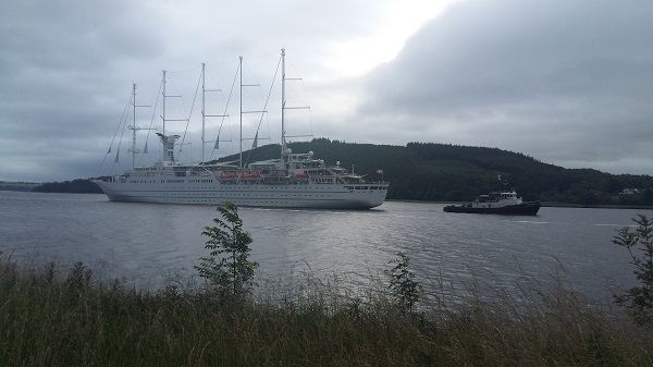World's largest sailing cruise ship arrives in Waterford