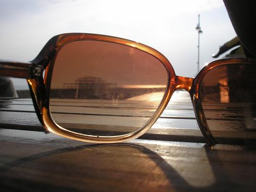 Lost: a pair of prescription sunglasses