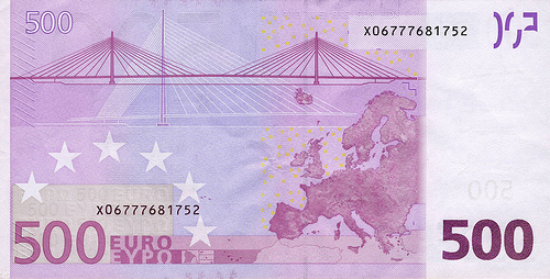 Lost: An envelope with €500 in cash