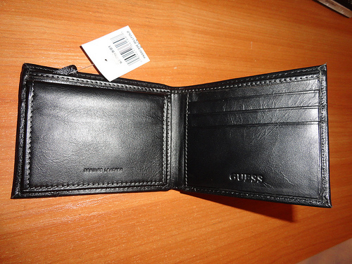 Lost: A black Wallet