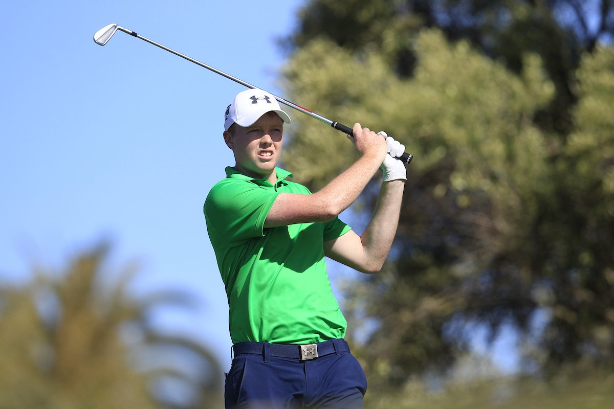 Waterford golfer in action at European Amateur Championship later