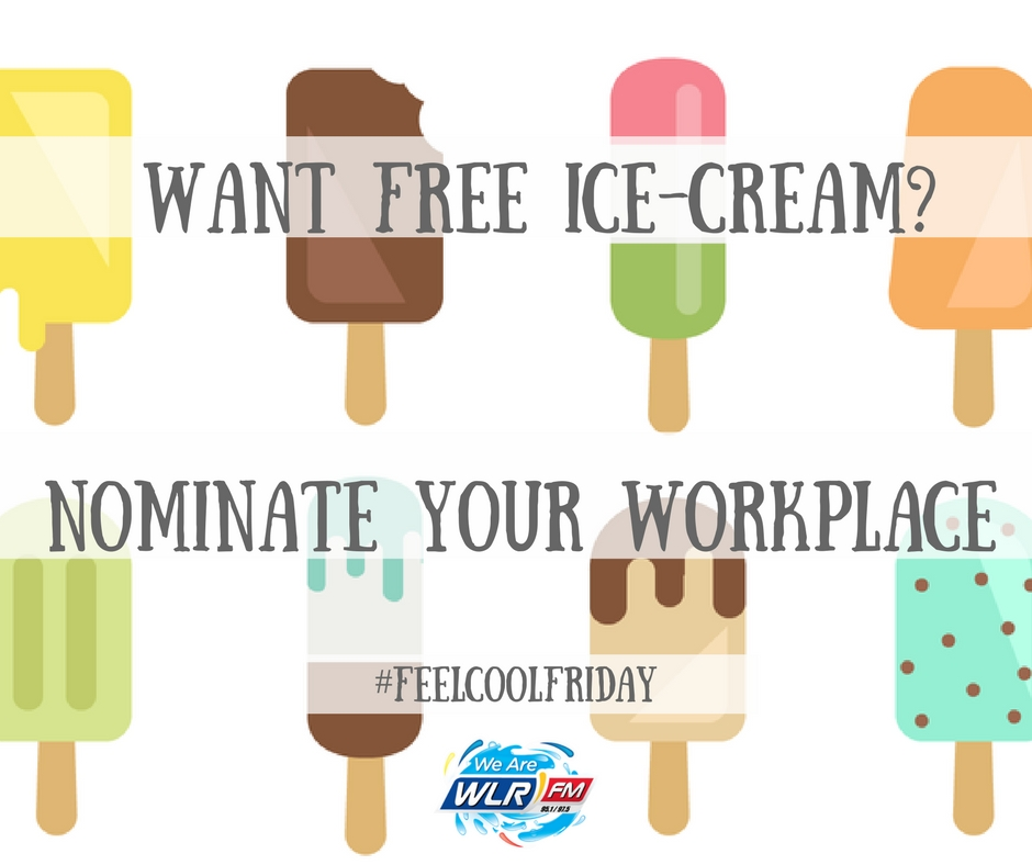 Feel Cool Friday - Free ice-cream for your workplace